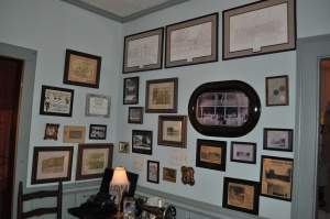 Wall of History at Armour's (originally the Count's Hotel )
