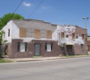 "Exterior of ""Color Hotel."" Source: National Register Nomination, 2008."