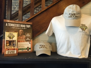 Display for the Jack Trail, one of the Discover Tennessee Trails & Byways