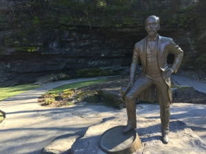 """Jack on the Rocks"" by Alan LeQuire, one of the leading sculptors in the state"