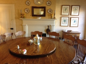 One of the multiple dining rooms at Miss Mary Bobo's