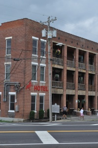Walking Horse Hotel in Wartrace (Middle TN). Currently functions as a hotel and music venue.