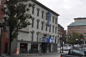 Lamar House Hotel - Bijou Theater in Knoxville. Current function is restaurant and theater.